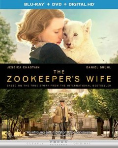 The zookeeper's wife [Blu-ray + DVD combo] cover image