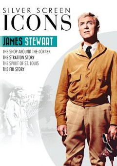 Silver screen icons. James Stewart cover image