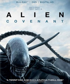 Alien: Covenant [Blu-ray + DVD combo] cover image