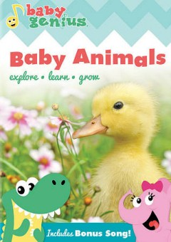 Baby genius. Baby animals cover image