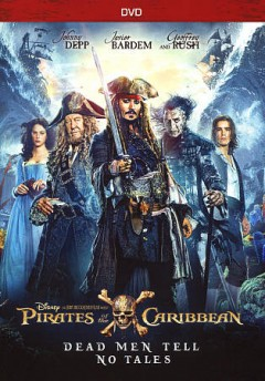 Pirates of the Caribbean, dead men tell no tales cover image