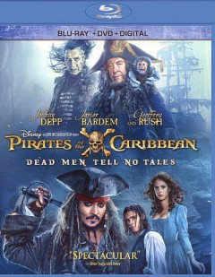 Pirates of the Caribbean. Dead men tell no tales [Blu-ray + DVD combo] cover image