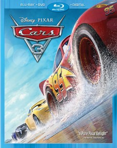 Cars 3 [Blu-ray + DVD combo] cover image