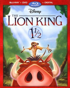 The Lion King 1 1/2 [Blu-ray + DVD combo] cover image
