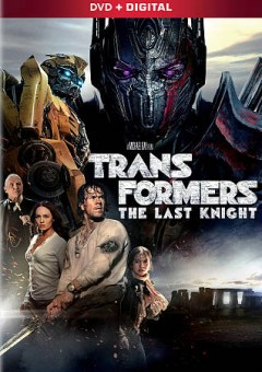Transformers. The last knight cover image