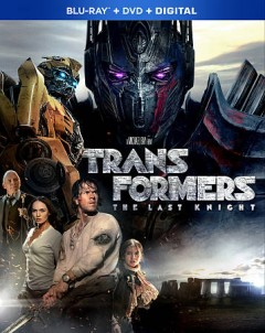 Transformers, the last knight [Blu-ray + DVD combo] cover image