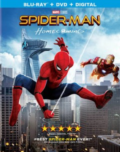 Spider-Man homecoming [Blu-ray + DVD combo] cover image