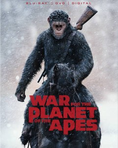 War for the planet of the apes [Blu-ray + DVD combo] cover image