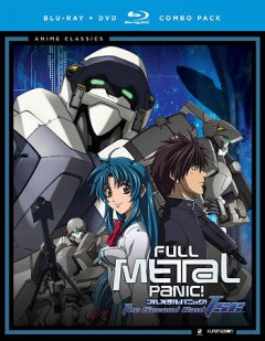 Full metal panic! The second raid TSR cover image