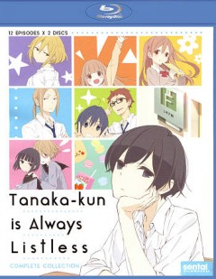 Tanaka-kun is always listless. Complete collection cover image