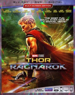 Thor. Ragnarok [Blu-ray + DVD combo] cover image