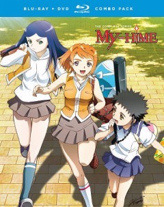 My-HiME. The complete series [Blu-ray + DVD combo] cover image