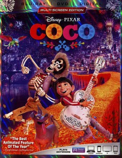 Coco [Blu-ray + DVD combo] cover image