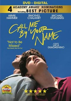 Call me by your name cover image