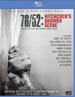 78/52 Hitchcock's shower scene [Blu-ray + DVD combo] cover image