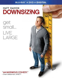 Downsizing [Blu-ray + DVD combo] cover image