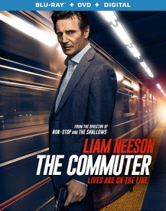 The commuter [Blu-ray + DVD combo] cover image