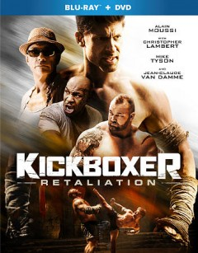 Kickboxer. Retaliation [Blu-ray + DVD combo] cover image