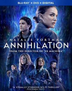 Annihilation [Blu-ray + DVD combo] cover image