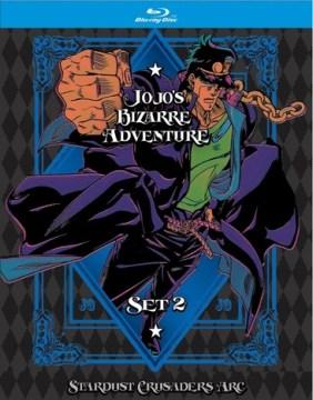 Jojo's bizarre adventure, stardust crusaders. Season 2 cover image