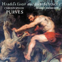 Handel's finest arias for base voice. ii cover image