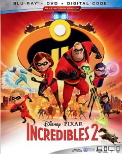 Incredibles 2 [Blu-ray + DVD combo] cover image