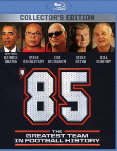 '85 the greatest team in football history cover image