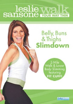 Walk your way thin. Belly, buns & thighs slimdown cover image