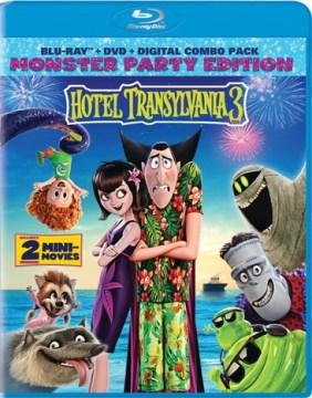 Hotel Transylvania 3 [Blu-ray + DVD combo] cover image