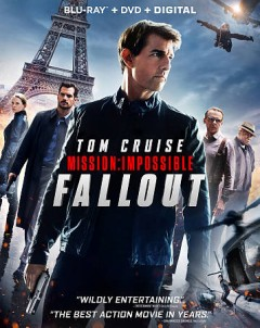 Mission: Impossible. Fallout [Blu-ray + DVD combo] cover image