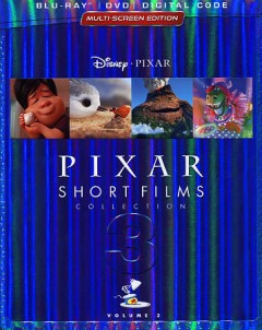 Pixar short films collection. Volume 3 [Blu-ray + DVD combo] cover image