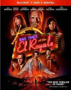 Bad times at the El Royale [Blu-ray + DVD combo] cover image