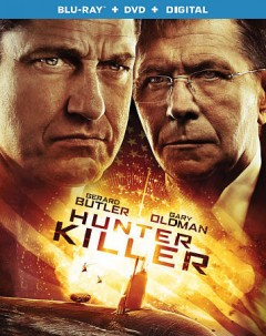 Hunter killer [Blu-ray + DVD combo] cover image