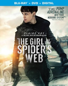 The girl in the spider's web [Blu-ray + DVD combo] cover image