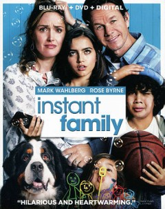 Instant family [Blu-ray + DVD combo] cover image