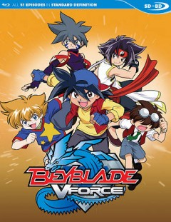 Beyblade V-force complete series cover image