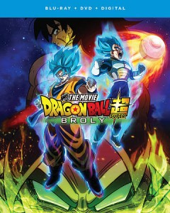 Dragon ball super. Broly [Blu-ray + DVD combo] the movie cover image