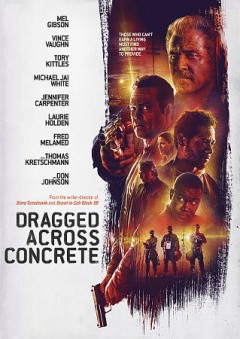 Dragged across concrete cover image