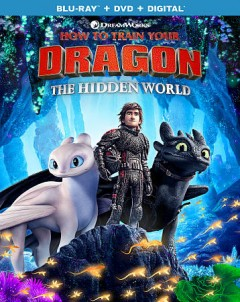 How to train your dragon. The hidden world [Blu-ray + DVD combo] cover image