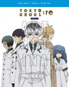 Tokyo ghoul: re. Part 1 [Blu-ray + DVD combo] cover image