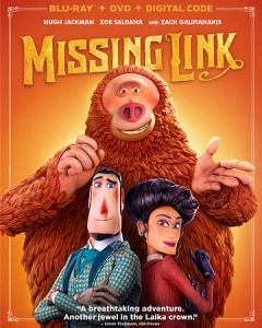 Missing link [Blu-ray + DVD combo] cover image