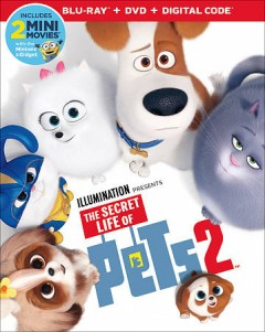 The secret life of pets 2 [Blu-ray + DVD combo] cover image