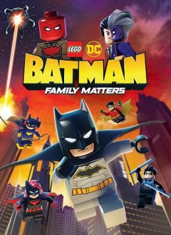 LEGO DC Batman family matters cover image