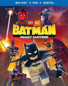 Lego DC Batman. Family matters [Blu-ray + DVD combo] cover image