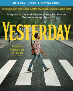 Yesterday [Blu-ray + DVD combo] cover image