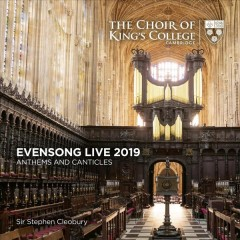 Evensong live 2019 anthems and canticles cover image