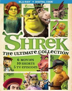 Shrek the ultimate collection cover image