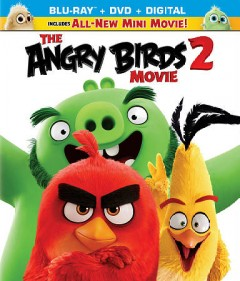 The angry birds movie 2 [Blu-ray + DVD combo] cover image