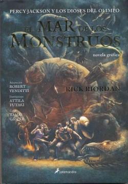 El mar de los monstruos : novela gráfica cover image