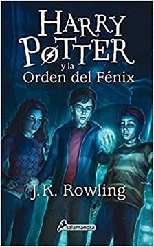 Harry Potter y la Orden del Fénix cover image
